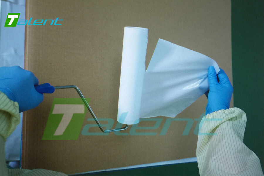cleanroom adhesive roller