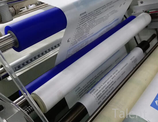 PP sticky roller application